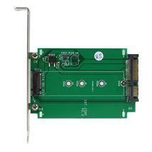 Image de StarTech.com Adaptateur SSD M.2 NGFF vers SATA - Convert ... (S32M2NGFFPEX)
