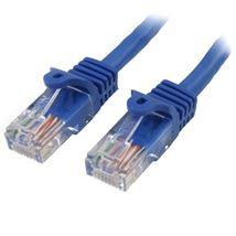 Image de StarTech.com Câble réseau Cat5e sans crochet de 50 cm - B ... (45PAT50CMBL)
