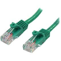 Image de StarTech.com Câble réseau Cat5e sans crochet de 50 cm - V ... (45PAT50CMGN)