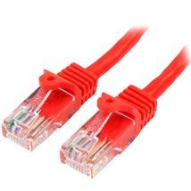 Image de StarTech.com Câble réseau Cat5e sans crochet de 50 cm - R ... (45PAT50CMRD)