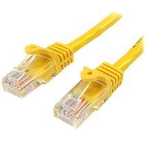 Image de StarTech.com Câble réseau Cat5e sans crochet de 50 cm - J ... (45PAT50CMYL)
