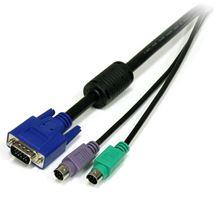 Image de StarTech.com câble kvm Noir 1,8 m (SVPS23N1_6)