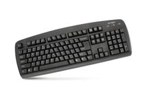 Image de Kensington ValuKeyboard USB + PS/2 AZERTY Belge Noir (1500109BE)