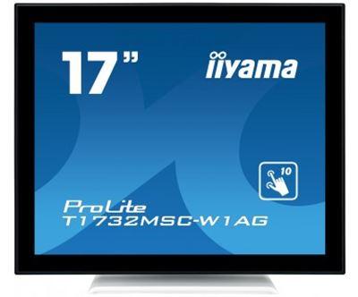 "Image sur iiyama ProLite 17"" 1280 x 1024pixels Plusieurs pressio ... (T1732MSC-W1AG)"