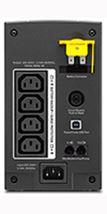 Image de APC Back-UPS Interactivité de ligne 700VA 4sortie(s) CA Tour ... (BX700UI)