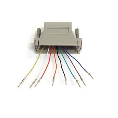 Image sur StarTech.com Adapter DB25M to RJ45F Gris adaptateur et connec ... (GC258MF)