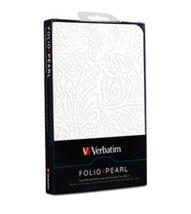 """Image de Verbatim 7"""" Folio case Blanc étui pour tablette (98076)"""