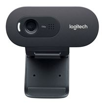 Image de Logitech C270 3MP 1280 x 720pixels USB 2.0 Noir webcam (960-001063)