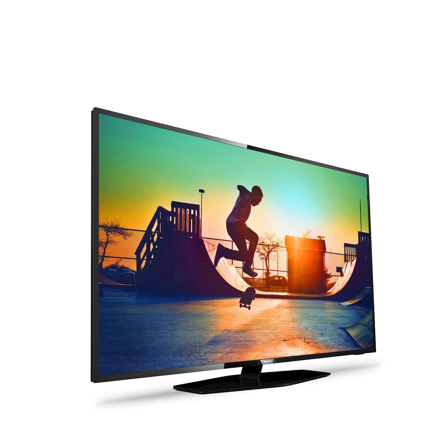 Philips 6000 Series T L Viseur Led Smart Tv Ultra Plat 4  # Meuble Tv Ultra Fin