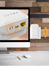 Image de ZyXEL WRE6606 Ethernet/LAN Blanc Routeur connecté (WRE6606-EU0101F)