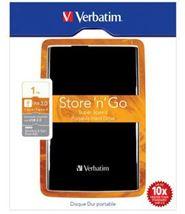 Image de Verbatim Disque dur portable USB Store 'n' Go 3.0, 1 To, noir (53023)