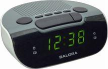 Image de Salora réveille-matin Réveil numérique Noir, Gris, Blanc (CR612)
