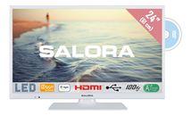 """Image de Salora 24"""" HD 220cd/m² Blanc A+ 5W télévision de courtoisi ... (24HDW5015)"""