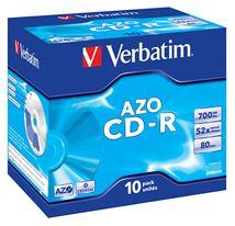 Image de Verbatim CD-R AZO Crystal 700 Mo 10 pièce(s) (43327)