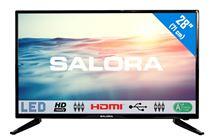 """Image de Salora 1600 series 28"""" HD Noir écran LED (28LED1600)"""
