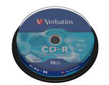 Image de Verbatim CD-R Extra Protection 700 Mo 10 pièce(s) (43437)