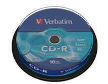 Image de Verbatim CD-R Extra Protection CD-R 700Mo 10pièce(s) (43437)