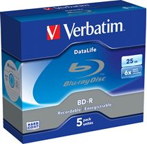 Image de Verbatim DataLife 6x BD-R 25Go 5pièce(s) (43836)
