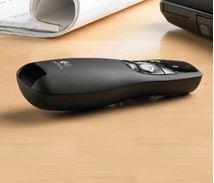 Image de Logitech R400 RF Noir télécommande (910-001356)