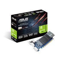 Image de ASUS GT710-SL-2GD5 NVIDIA GeForce GT 710 2 Go GDDR5 (90YV0AL1-M0NA00)