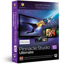 Image de Corel Pinnacle Studio 18 Ultimate, Edu Lic 5-50 (LCST18ULMLA1)