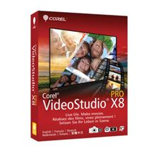 Image de Corel VideoStudio Pro X8 Education, 1-4 (LCVSPRX8MLA1)