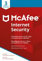 Image de McAfee  Internet Security 3 Device NL-FR (MIS00MNR3RAA)