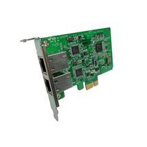 Image de Qnap Systems QNAP carte réseau Ethernet 1000 Mbit/s In ... (LAN-1G2T-I210)