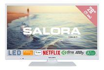 """Image de Salora 5000 series 28"""" HD Smart TV Blanc écran LED (28HSW5012)"""