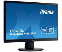 "Image de iiyama ProLite 21.5"" Full HD VA Mat Noir Plat écran plat ... (X2283HS-B3)"
