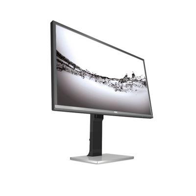 """Image sur AOC 31.5"""" 4K Ultra HD LCD Noir, Argent écran plat de PC (U3277PWQU)"""