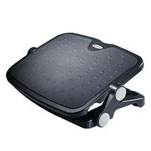 Image de StarTech.com Repose-pieds de bureau réglable noir - Aluminium ... (FTRST1)