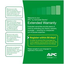 Image de APC extension de garantie et support (WBEXTWAR1YR-AC-01)