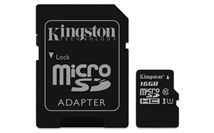 Image de Kingston Technology Canvas Select 16Go MicroSDHC UHS-I Clas ... (SDCS/16GB)