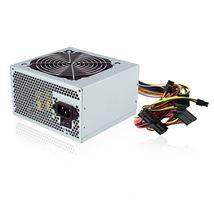 Image de Ewent 500W ATX Argent unité d'alimentation d'énergie (EW3900)