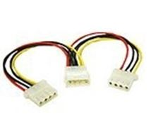 Image de C2G 5.25 Internal Power Y-Cable Molex 2 x Molex adaptateur et c ... (81845)