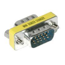 Image de C2G HD15 VGA Mini Changer VGA (D-Sub) Argent (81527)