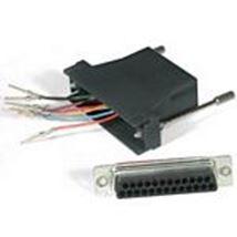Image de C2G RJ45/DB25M Modular Adapter Noir (81543)