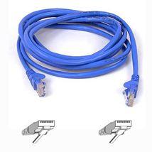 Image de Belkin RJ45 CAT-5e Patch Cable, 2 metre, Blue network ... (A3L791B02M-BLU)