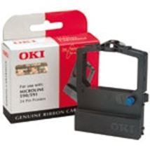 Image de OKI Noir ruban d'impression (09002316)