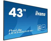 "Image de iiyama affichage de messages 108 cm (42.5"") LED 4K Ultr ... (LE4340UHS-B1)"