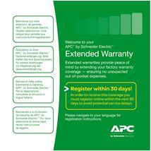 Image de APC Service Pack 3 Year Warranty Extension (for ne ... (WBEXTWAR3YR-SP-01A)