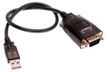 Image de Ewent 1.5m USB 9 Sub-D Noir câble Série (EW1116)