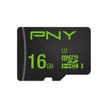 Image de PNY High Performance mémoire flash 16 Go MicroSDHC ... (SDU16GHIGPER-1-EF)