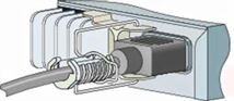 Image de Cisco Power Retention Clip cable clamp (PWR-CLIP-CMP=)