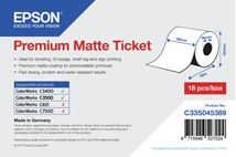 Image de Epson Premium, 80mm x 50m, 107 g/m² large format media (C33S045389)