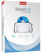 Image de Corel Roxio Toast 17 Titanium (RTOT17MLMBEU)