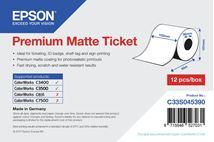 Image de Epson Premium, 102mm x 50m, 107 g/m² large format media (C33S045390)
