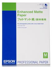 Image de Epson Enhanced Matte Paper, DIN A2, 192g/m², 50 Sheets la ... (C13S042095)