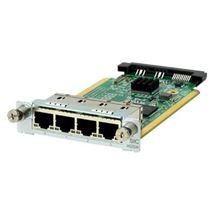Image de HPE MSR 4-port Gig-T Switch SIC Module network switch module (JG739A)